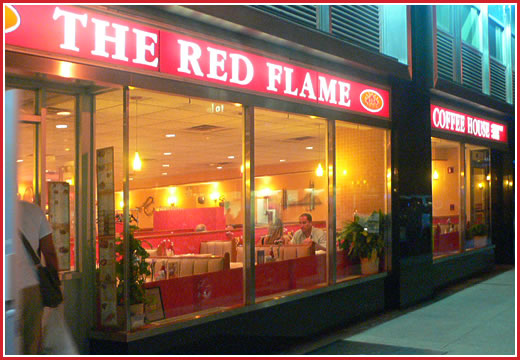 The Red Flame Diner Locations